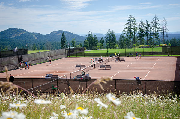 Tennis Courts at Bear Mountain Resort