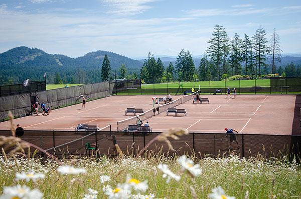 Tennis Courts at Bear Mountain Resort